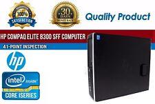 HP Compaq Elite 8300 SFF Intel i5 8 GB RAM 500 GB HDD Win 10 USB B Grade Desktop