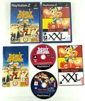 Lot de 2 jeux Playstation 2 PS2 VF  Asterix  avec notices  Envoi rapide et suivi