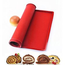 Selecto Bake - Baking Silicone Non-stick Healthy Cooking Baking Mat Red