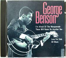 "GEORGE BENSON - 4 TRACKS CD ""I'M AFRAID OF THE MASQUERADE"""