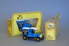 2 Matchbox Models of Yesteryear Y-12 1912 Model T Ford Cerebos Table Salt, 1:35