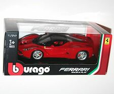Burago - FERRARI LAFERRARI (Red) - Die Cast Model - Scale 1:24