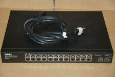 DELL POWERCONNECT 2824 24-PORT GIGABIT MANAGED NETWORK SWITCH VOLTS 100-240 1A
