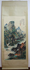 RARE Chinese 100% Hand Painting & Scroll Landscape By Huang Binhong 黄宾虹 813WED