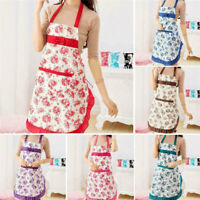 Damen Kochschürze Schürze Küchenschürze Latzschürze Grillschürz Arbeitskleidung