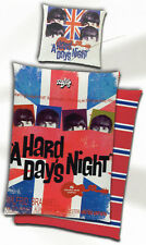 Bettwäsche Radio Days - Beatles A Hard Day's Night - 135x 200cm - 100% Baumwolle