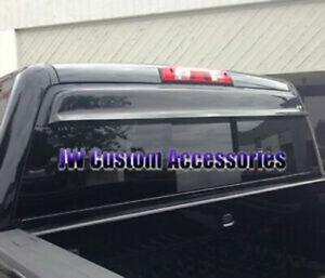 Fits 14-18 Silverado 1500 2500 3500 GTS Shadeblade Rear Window Deflector 57993
