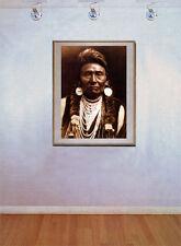 Chief Joseph 22x30 Hand Numbered Ltd. Editio Edward S.Curtis Native American Art