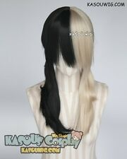 Prince of Stride Himemiya Yuri blonde black split pigtails cosplay wig
