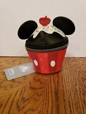 Nwt Disney Parks Mickey Mouse Cupcake Cosmetic Case Pouch Bag Coin Purse