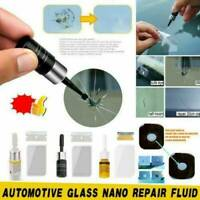 Automotive Glass Nano Repair Fluid Car Window Glass Tool Kit Xmas Crack Chip UK