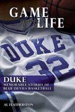 Duke: Memorable Stories of Blue Devil Basketball (Game of My Life)