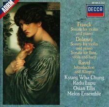 Franck - Debussy - Ravel : Kyung Wha Chung, Radu Lupu, Osian Ellis, Melos Ensemb