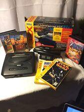 HUGE Sega Bundle Sega 32X Genesis & Games with Original Boxes Manuals Controller