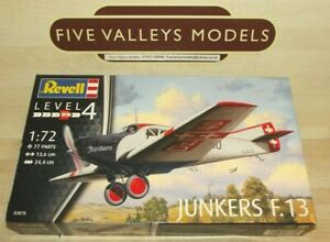 241021/04 Revell 03870 Junkers F.13 1:72 Scale