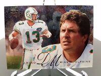 1995 Fleer Flair Preview Dan Marino Miami Dolphins #18 Football Card