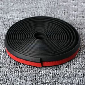 4M Z Shape Car Door Window Trim Edge Moulding Rubber Weatherstrip Seal Strip
