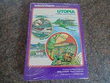 UTOPIA INTELLIVISION NUOVO VECCHIO STOCK di giochi retrò SIGILLATO IN COPERTINA BOX DAL 1981