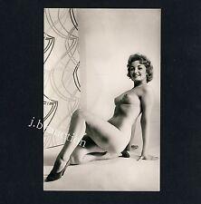 NUDE WOMAN STUDY AKTSTUDIE AKTFOTO AKT FRAU * Vintage German 60s Studio Photo #3