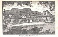 R249913 Kent. Broadstairs. Kingsgate College. Postcard