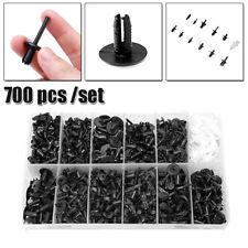 700PCS Plastic Clip Car Body Retainer Push Fastener Pin Trim Rivet Moulding Tool