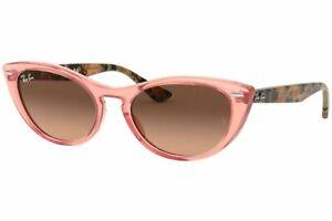 Ray Ban-RB4314N Nina-1282A5 Transparent Pink Brown