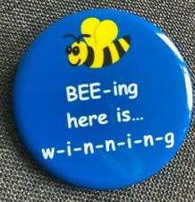 """25TH ANNUAL PUTNAM COUNTY SPELLING BEE Broadway Souvenir Button 2"""""""