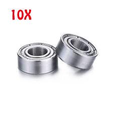 10 PCS F686ZZ (6x13x5 mm) Metal Shielded FLANGED Ball Bearing Bearings F686z