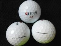 "20 WILSON STAFF - ""FIFTY AND FIFTY ELITE"" -  Golf Balls - ""A MINUS / B PLUS"""