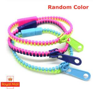 3 Pack Zipper Bracelet Fidget Focus Toy Stress Relief ADHD AUTISM Zip UK School