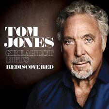 "TOM JONES ""GREATEST HITS REDISCOVERED"" 2 CD NEW+"