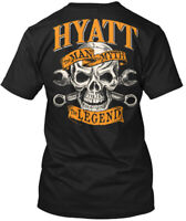 Hyatt The Man Myth Legend Hanes Tagless Tee T-Shirt
