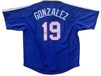 Juan Gonzalez autographed signed jersey MLB Texas Rangers PSA COA MVP