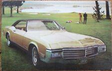 Buick Riviera 1969 Chrome Car Advertising Postcard - San Antonio, TX Dealer