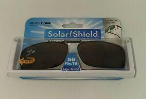 Solar Shield Clip-On Sunglasses, 56 REC 19 -For Metal Frames!
