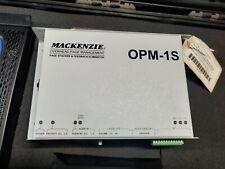MACKENZIE OPM-1S Gemeinkosten Seite Verwaltung - Ablage & Feedback Eleminator