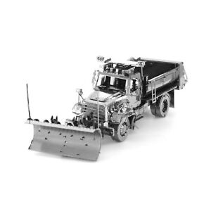 Metal Earth Freightliner 114SD Snow Plow 3D Laser Cut Metal DIY Model Build Kit