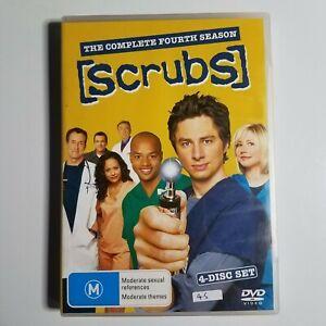 Scrubs: The Complete Fourth Season   DVD TV Series   Zach Braff, Sarah Chalke