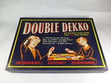Vintage Game DOUBLE DEKKO & FAMILY TRIPLETS 1950s Complete and Unused EXCELLENT