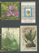 Thematic 6 Plants, Flowers. Miniature Sheets