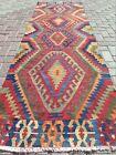 Vintage Kilim Runner Rugs  Hallway Rug  Carpet Runner  Aisle Long Kelim 35 x111