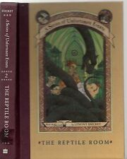 A Series of Unfortunate Events  LEMONY SNICKET #2 THE REPTILE ROOM (HCDJ; 1999)