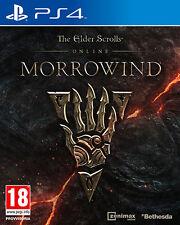 The Elder Scrolls Online Morrowind PS4 Playstation 4 IT IMPORT BETHESDA