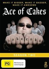 Ace Of Cakes : Season 2 (DVD, 2012, 2-Disc Set) All Regions TV Series DVD in VGC