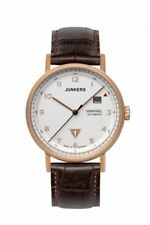 JUNKERS 6756-4 Eisvogel F13 Herren Uhr Automatik Armband Leder Armbanduhr Uhren