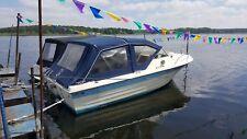 Motorboot Kajütboot und Trailer Ecofiber Mallard GFK 6,37mx2,5m
