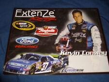 2010 KEVIN CONWAY #37 EXTENZE NASCAR POSTCARD