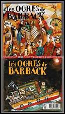 "LES OGRES DE BARBACK ""Fausses Notes,Repris De Justesse"" (2 CD Digipack)2000 NEUF"