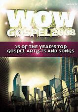 WOW Gospel 2008 DVD -  NEW - 15 OF YEAR'S. TOP GOSPEL SONGS - RARE & OOP