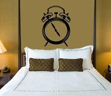 Wall Sticker Vinyl Decal Alarm Clock Sleep Nice Decor Bedrooms (ig1134)